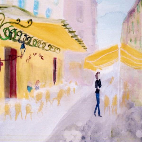 ゴッホの黄色いカフェ